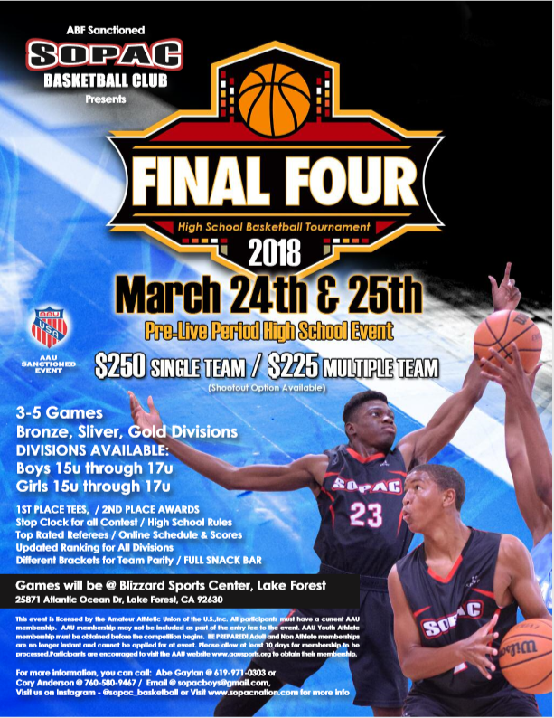 Final Four Tournament