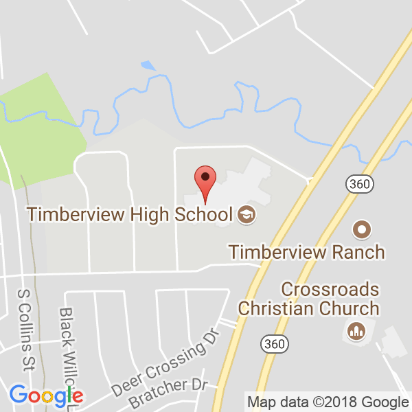 Mansfield Timberview  Map